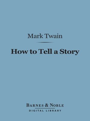 cover image of How to Tell a Story