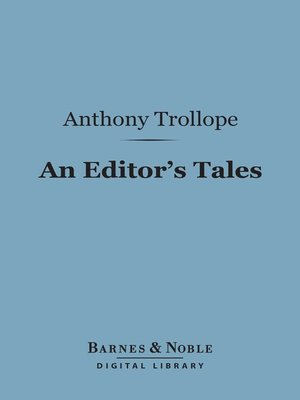 cover image of An Editor's Tales