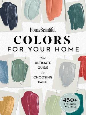 cover image of House Beautiful Colors for Your Home