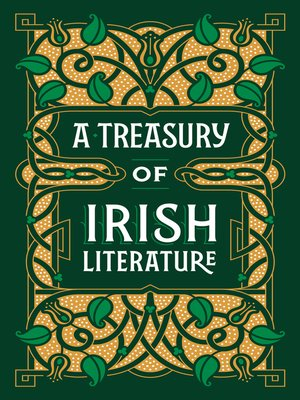 cover image of A Treasury of Irish Literature