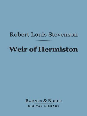 cover image of Weir of Hermiston