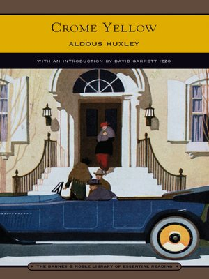 cover image of Crome Yellow