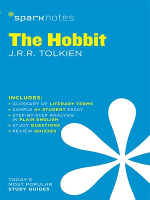 cover image of The Hobbit: SparkNotes Literature Guide