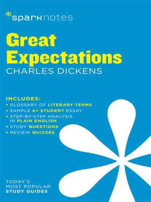 cover image of Great Expectations: SparkNotes Literature Guide