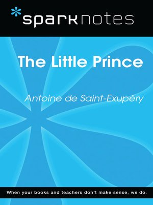 cover image of The Little Prince: SparkNotes Literature Guide