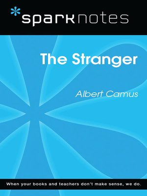 cover image of The Stranger (SparkNotes Literature Guide)