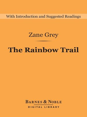 cover image of The Rainbow Trail