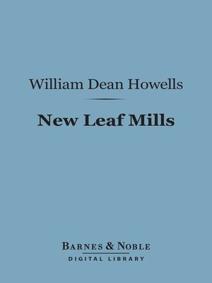 cover image of New Leaf Mills