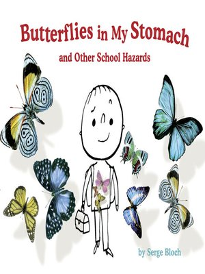 cover image of Butterflies in My Stomach and Other School Hazards