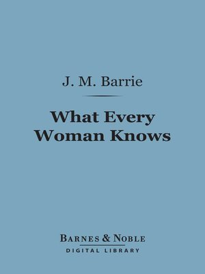 cover image of What Every Woman Knows