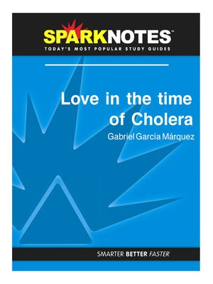 cover image of Love in the Time of Cholera (SparkNotes Literature Guide)