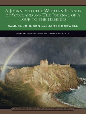 cover image of A Journey to the Western Islands of Scotland and the Journal of a Tour to the Hebrides