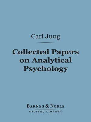 cover image of Collected Papers on Analytical Psychology