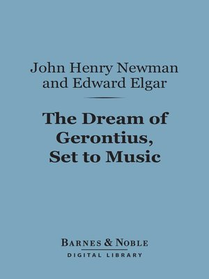 cover image of The Dream of Gerontius, Set to Music