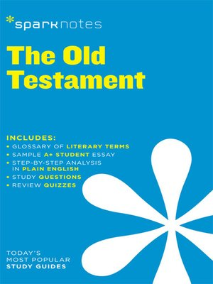 cover image of Old Testament: SparkNotes Literature Guide