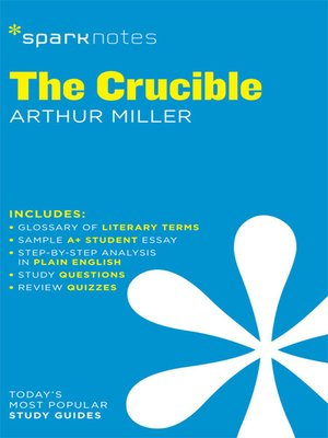 cover image of The Crucible SparkNotes Literature Guide