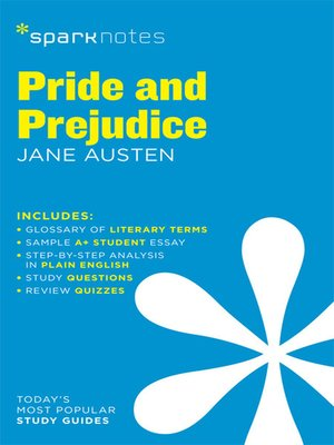 cover image of Pride and Prejudice: SparkNotes Literature Guide