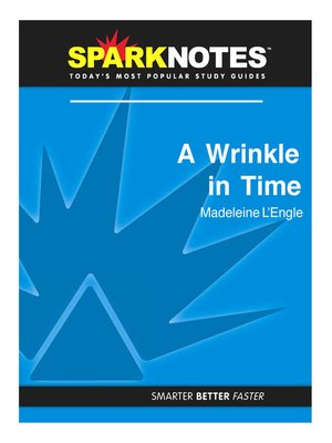 cover image of A Wrinkle in Time: SparkNotes Literature Guide