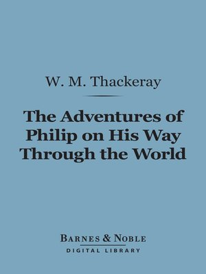 cover image of Adventures of Philip on His Way Through the World