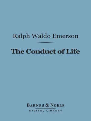 cover image of The Conduct of Life