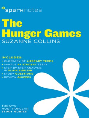 cover image of The Hunger Games: SparkNotes Literature Guide