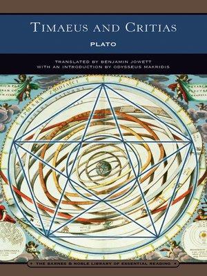 cover image of Timaeus and Critias