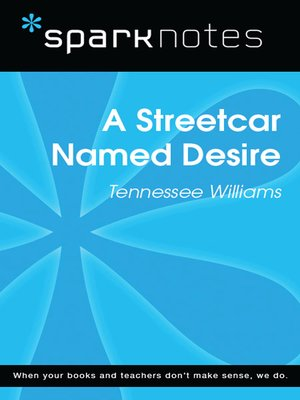 cover image of A Streetcar Named Desire (SparkNotes Literature Guide)