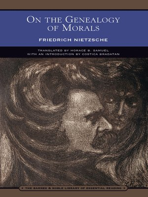 cover image of On the Genealogy of Morals