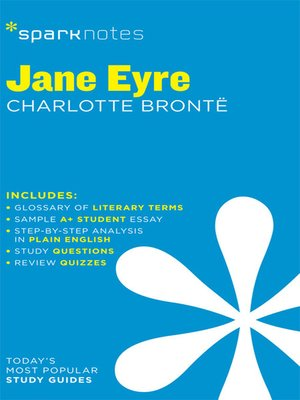 cover image of Jane Eyre: SparkNotes Literature Guide
