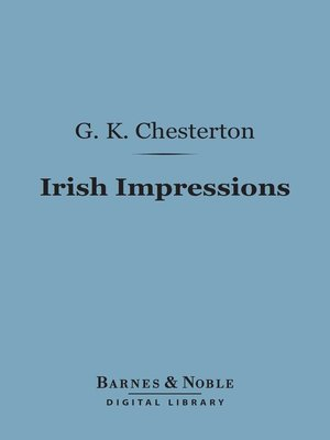 cover image of Irish Impressions