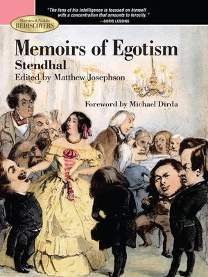 stendhal · rakuten ebooks audiobooks and  cover image of memoirs of egotism