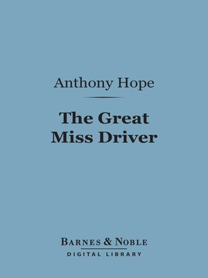 cover image of The Great Miss Driver