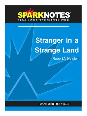 cover image of Stranger in a Strange Land (SparkNotes Literature Guide)