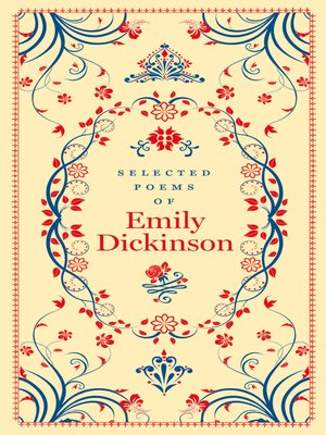 cover image of Selected Poems of Emily Dickinson