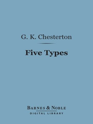 cover image of Five Types
