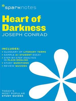 cover image of Heart of Darkness SparkNotes Literature Guide