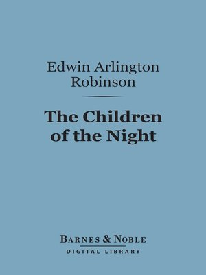cover image of The Children of the Night