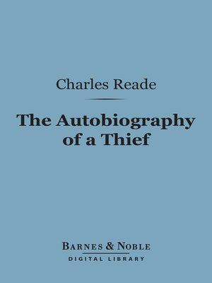 cover image of The Autobiography of a Thief