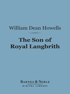 cover image of The Son of Royal Langbrith