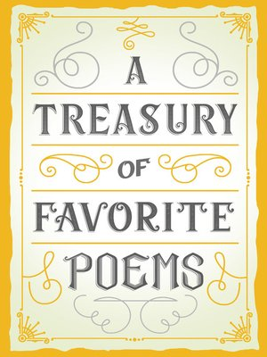 cover image of A Treasury of Favorite Poems