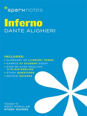 cover image of Inferno: SparkNotes Literature Guide