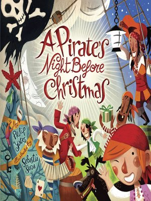 cover image of A Pirate's Night Before Christmas