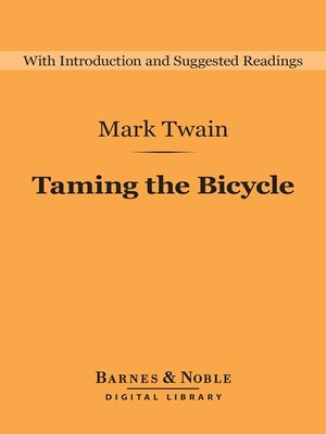 cover image of Taming the Bicycle