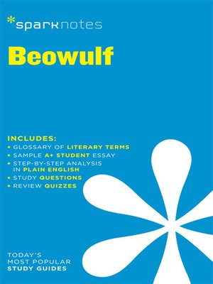 cover image of Beowulf: SparkNotes Literature Guide