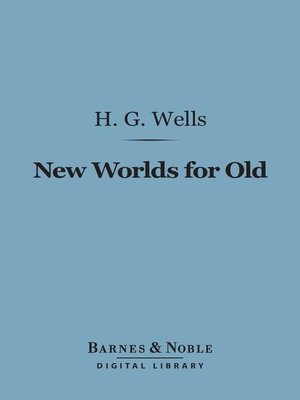 cover image of New Worlds for Old