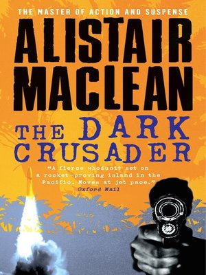 cover image of The Dark Crusader