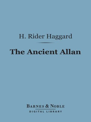 cover image of The Ancient Allan