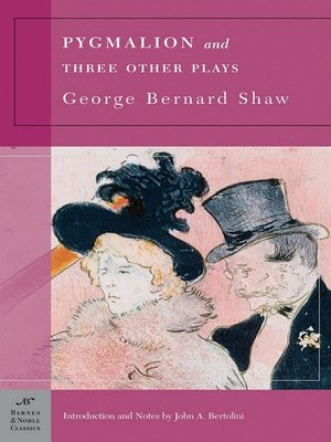 cover image of Pygmalion and Three Other Plays