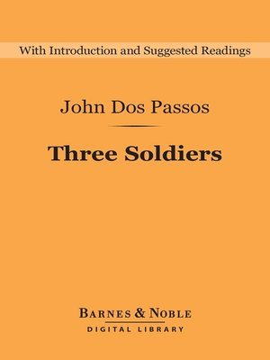 cover image of Three Soldiers