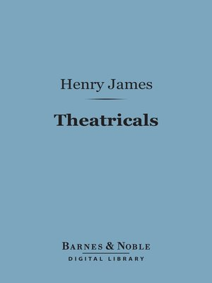 cover image of Theatricals